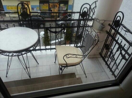 Andromeda Boutique Hotel: balcony