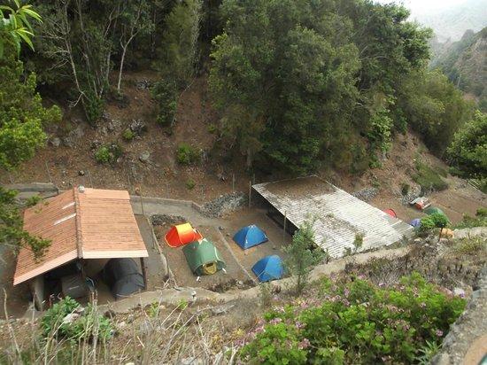 Hermigua, Spain: Camping La Vista