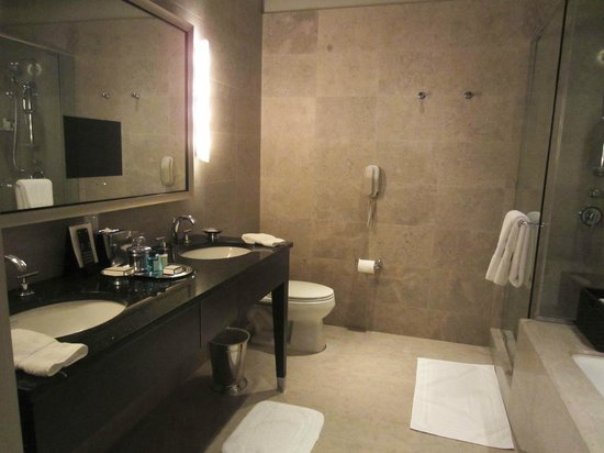 Trump International Hotel & Tower Chicago: Executive King bathroom