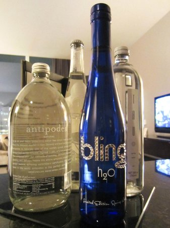 Trump International Hotel & Tower Chicago: Water selections