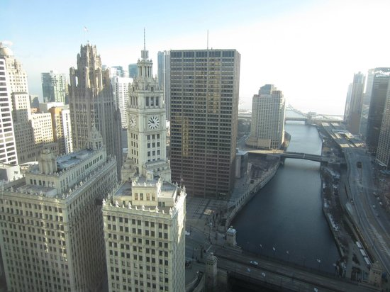 Trump International Hotel & Tower Chicago: Our view from Room 2754