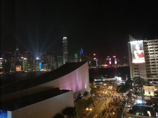 The Salisbury-YMCA of Hong Kong: view from the window, The Symphony of Lights