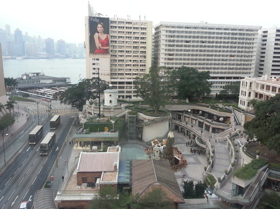 The Salisbury-YMCA of Hong Kong: Harbour view and 1881 Heritage below