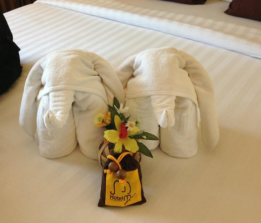 Hotel M Chiang Mai: They try their best....