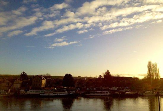 Hotel Le Maxime : Tres jolie vue depuis les chambres