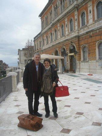 Ingresso Hotel Iris Perugia
