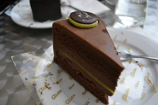 Cafe-Konditorei Aida: Mozart torte