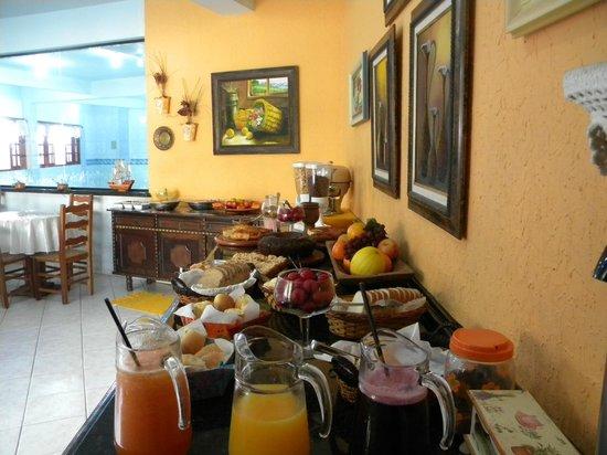 Pousada Magia do Sol: café da manhã