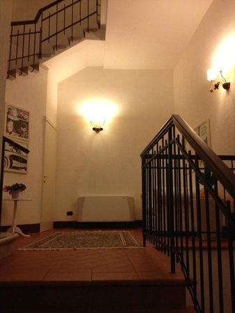 Hotel San Miniato: Entry in second building