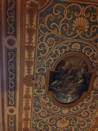 Hotel San Miniato: Ceiling of chapel