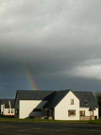 East Clare Golf Village: Christmas rainbow