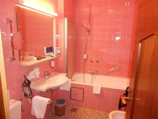 Hotel Karwendelhof: Bagno camera Karwendel