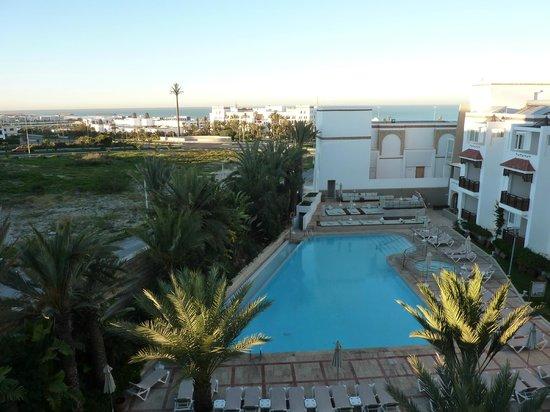Hotel Timoulay & Spa Agadir: vue du 2ème étage