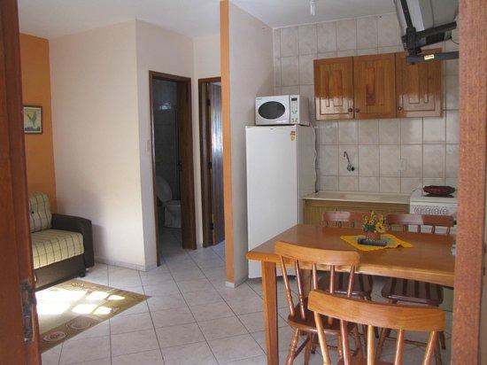 Pousada Magia do Sol: apartamentos sala cozinha conjugada