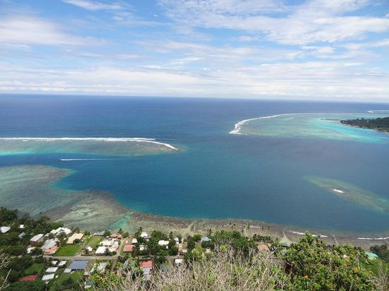 ATV Moorea Tours: Panoramic View from Top of Mountain