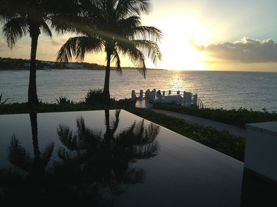 Four Seasons Resort and Residences Anguilla: tramonto
