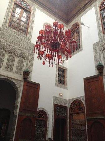 Riad Fez Yamanda: il lampadario