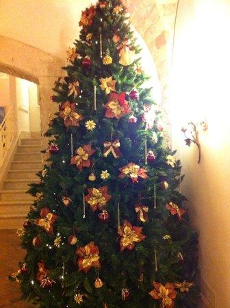 Hotel Residenza 100 Torri: Albero di Natale