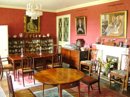 Llangattock Court: Dining Room