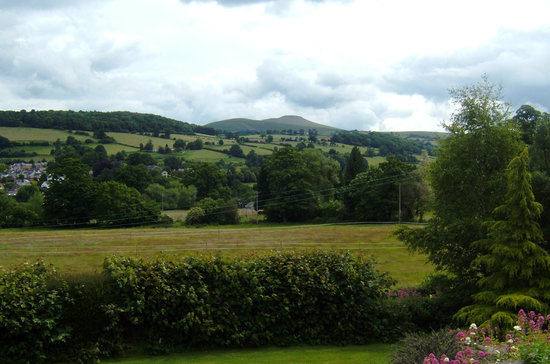 Llangattock Court: View from the House