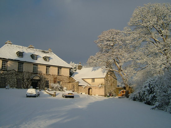 Llangattock Court: Winter Wonderland