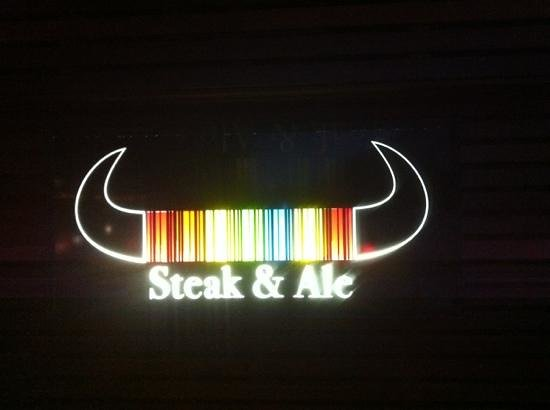 Steak and Ale: The restaurant