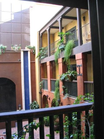 Hotel Valencia Riverwalk: Beautiful plantings in courtyard