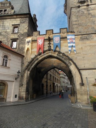 Charles Bridge Economic Hostel: this is just a few steps away from the front door!