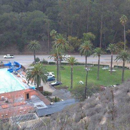 Avila Hot Springs Resort: Bird's eye view of property