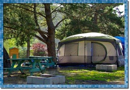Avila Hot Springs Resort: Tent Camping site