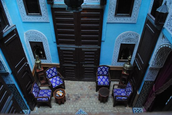 Riad Hiba Meknes: The lobby 1