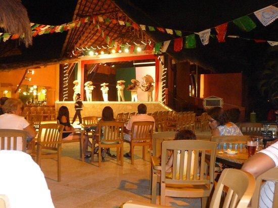 Hotel Riu Lupita: Spectacle du soir