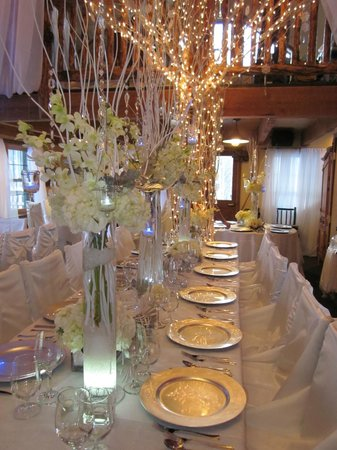 Lynn Britt Cabin transforms in to a beautiful wedding site