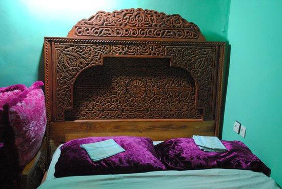 Riad Hiba Meknes: The bed