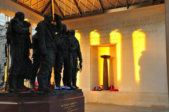 Bomber Command Memorial: Interior Memorial