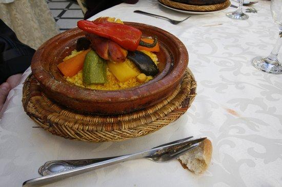 Riad Dar Tim Tam: couscous