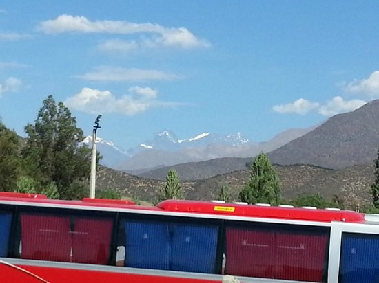 Inca Hoteles Los Andes: View of the Andes from the room