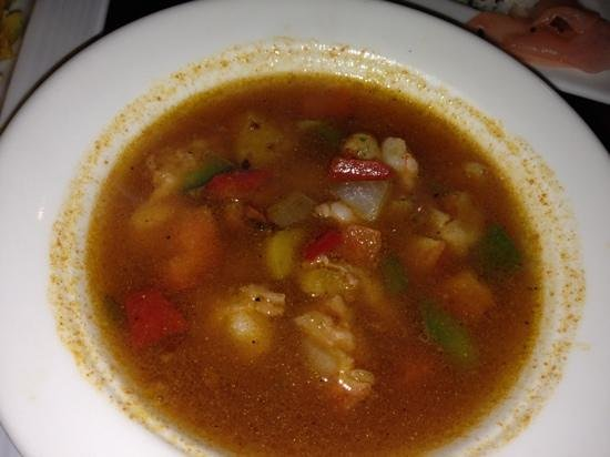 Mikado : spicy shrimp soup