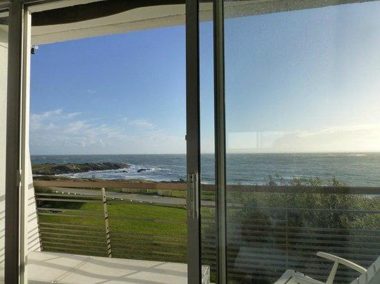 Sofitel Quiberon Thalassa Sea & Spa : Wintersonne/ Blick vom Zi. 222