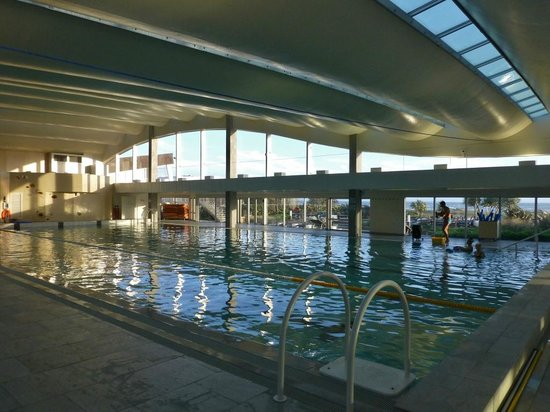 Sofitel Quiberon Thalassa Sea & Spa : Schwimmbad hell und sauber