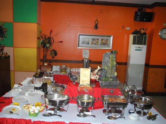 Mango Park Hotel: Frühstücks-Bufett