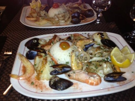 Napoli : l'assiette méditerranéenne