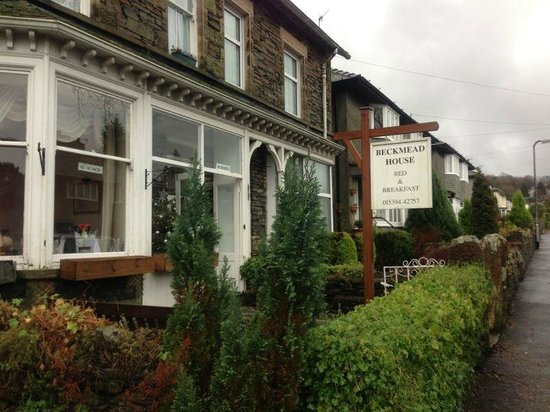 Beckmead Guest House: just 10 minutes walk from Windermere station