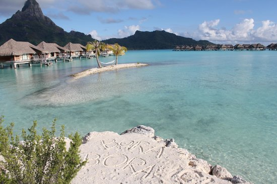 InterContinental Bora Bora Resort & Thalasso Spa: Lagon