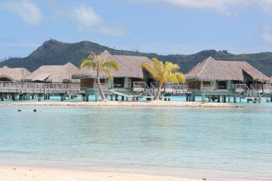 InterContinental Bora Bora Resort & Thalasso Spa: Sieste dans le hamac...