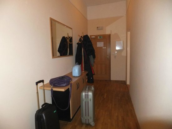 Aparthotel Lublanka: Corridoio d'entrata