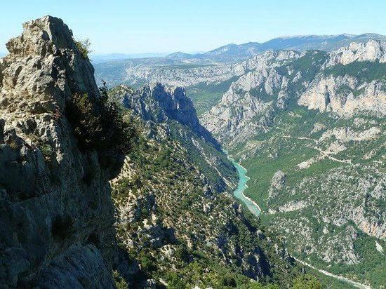 Vallon-Pont-d'Arc, France: Ardeche from the road