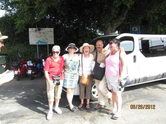 Tour of Sicily - Day Tours: 8 Tourists and the Van, with wireless