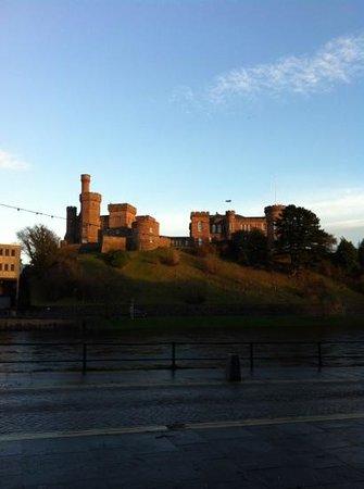 King's Highway: inverness Castle, 31.12.12