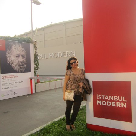 Istanbul Modern: Outside of the Museum